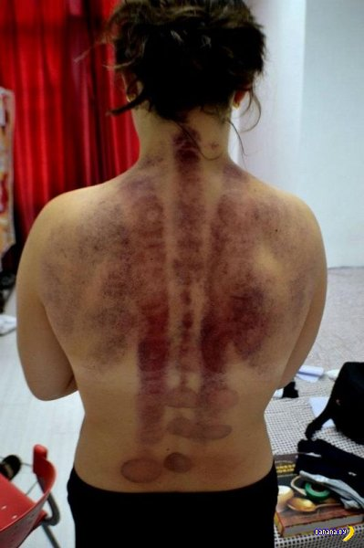 Некачественный Китайский массаж