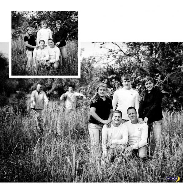Семья и зомби