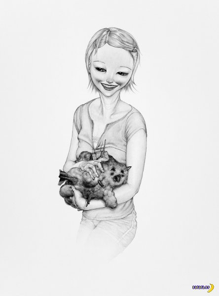 Необычные рисунки от Chris Scarborough