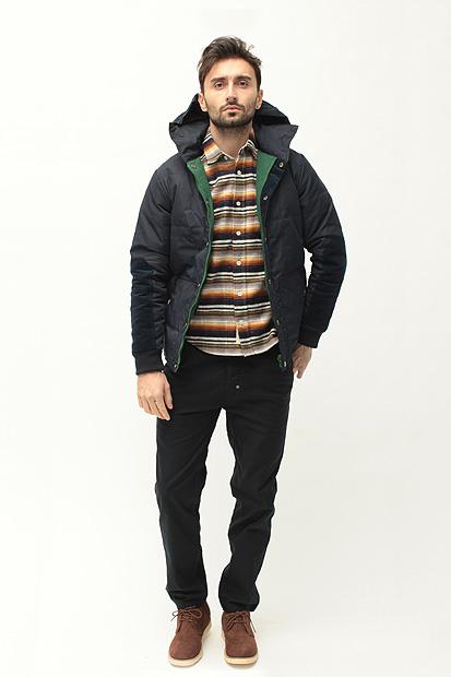 Лукбук осенне-зимней коллекции одежды марки Maiden Noir