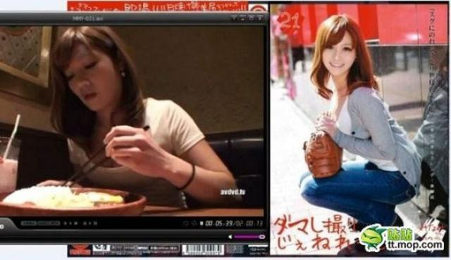 Японские актрисы фильмов для взрослых на обложках и в жизни