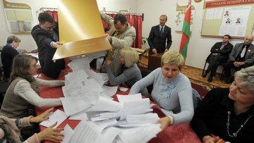 """Белорусская оппозиция выражает отчаяние после подтасованных выборов (""""Newsweek"""", США)"""