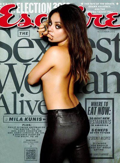 Мила Кунис — самая сексуальная женщина по мнению Esquire