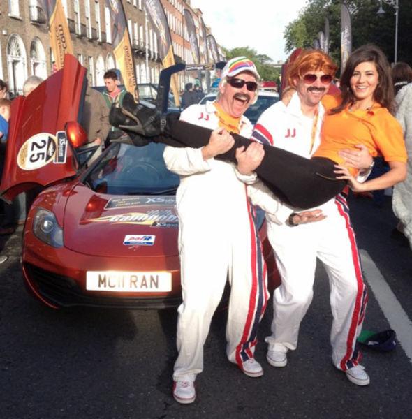 Девушки с заезда Cannonball в Ирландии