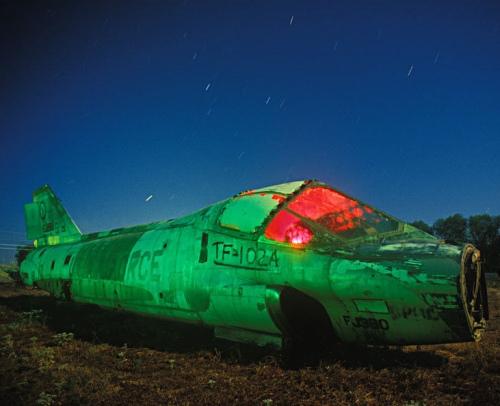 Кладбище самолетов в пустыне Мохаве