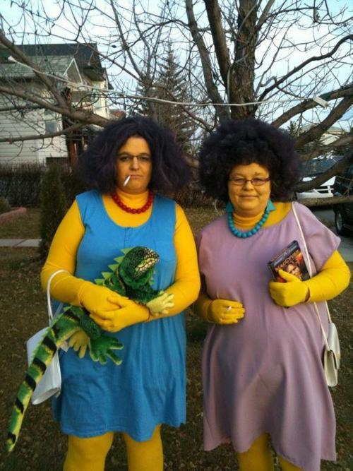 Оригинальные костюмы на Хеллоуин