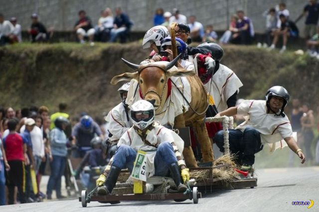 Фестиваль тележек в Колумбии