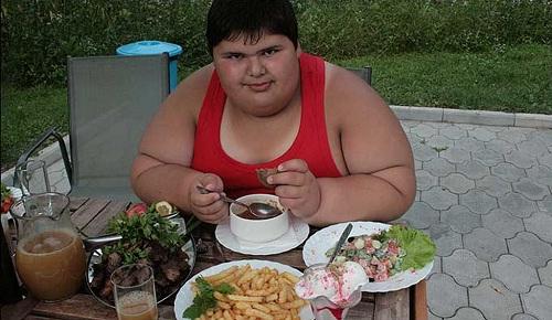 Самый толстый ребенок России