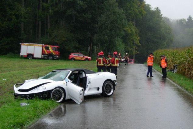 Покатался на Ferrari 360 Spider