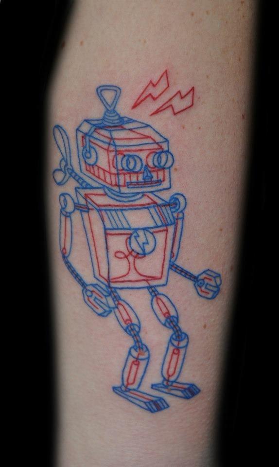 Лучшие тату в стиле Geeky