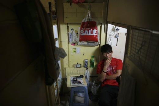 """Жизнь в гонконгских """"гробах"""""""