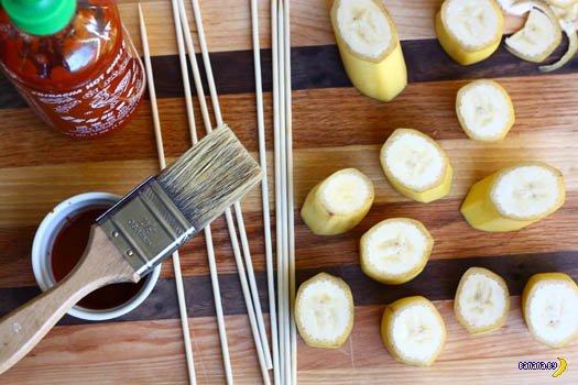 Острые бананы во фритюре
