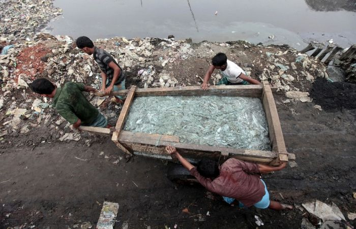 Кожевенное производство в Бангладеш