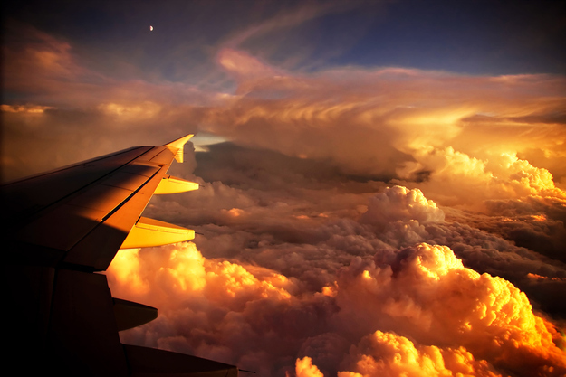 Фото над облаками