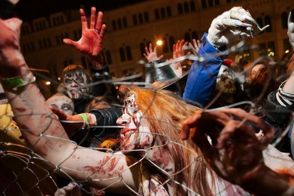 Нашествие зомби в Питере
