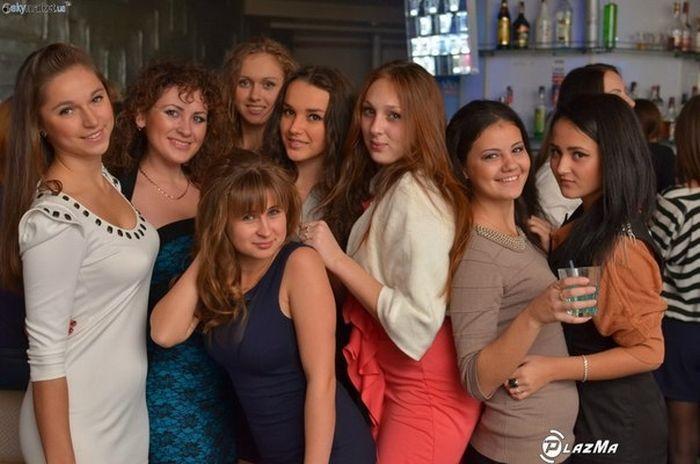 Украинские девушки-красотки