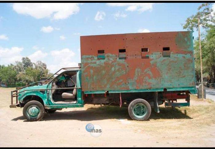 Автопарк мексиканской наркомафии