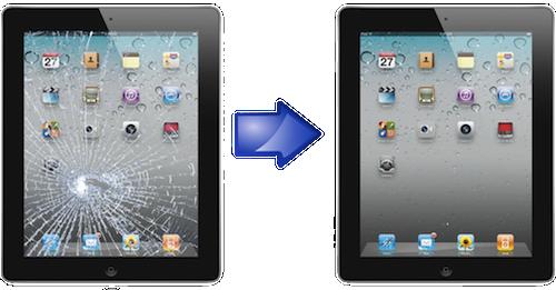 Когда возникает необходимость осуществить ремонт iPad