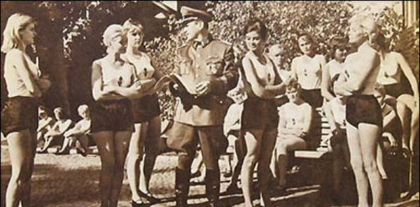 Система проституции и борделей в войсках Третьего рейха
