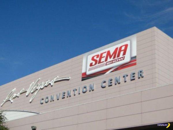 Прокачанные тачки с SEMA 2012