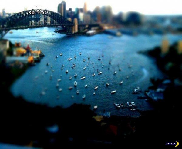 Красивые Tilt Shift фотографии