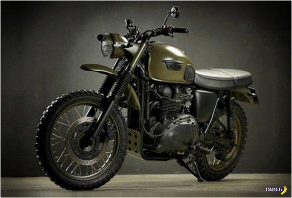 Мотоцикл Triumph Desert