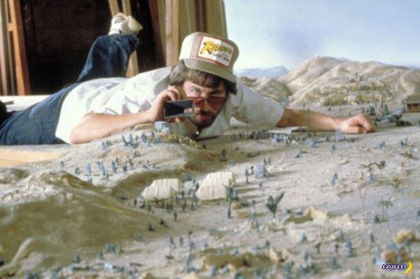 За кадром. Съемки «Индиана Джонс: В поисках утраченного ковчега» 1981 год