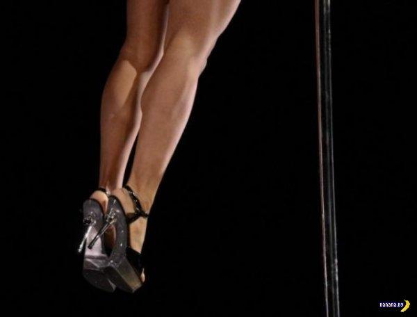 Чемпионат по танцам на шесте в Нью-Йорке