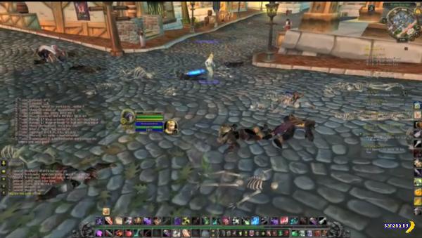 хакеры истребили всё живое в нескольких городах World of Warcraft