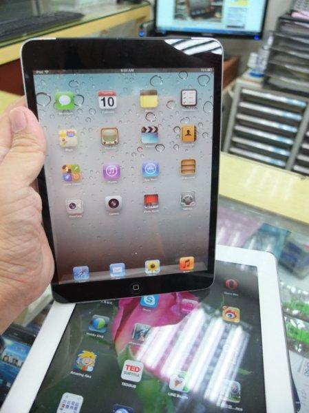 iPad mini крупным планом