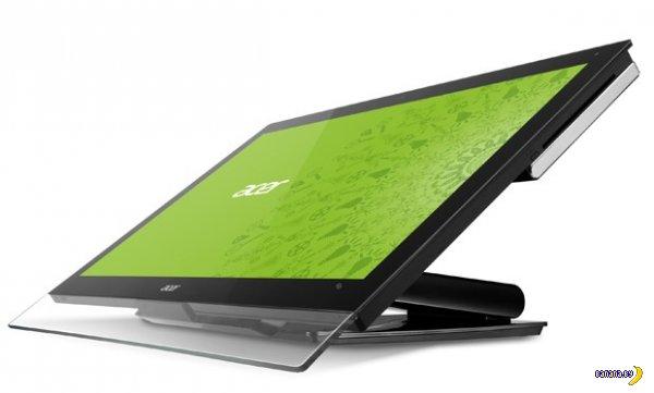 Новые моноблоки Acer под Windows 8