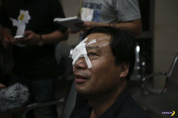 Китайские фейерверки против самих китайцев
