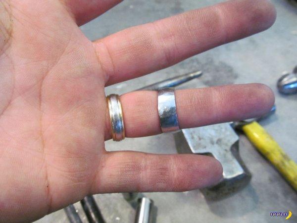 Как сделать кольцо?