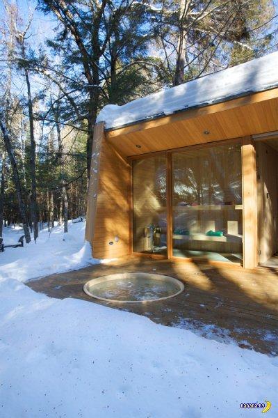 Домик в лесах Канады