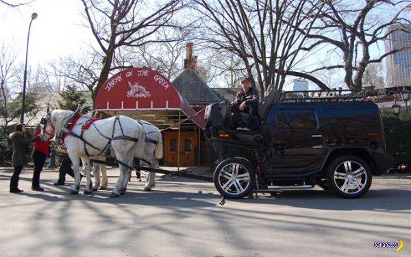 Переборудование Хаммера на 2 лошадиных силы