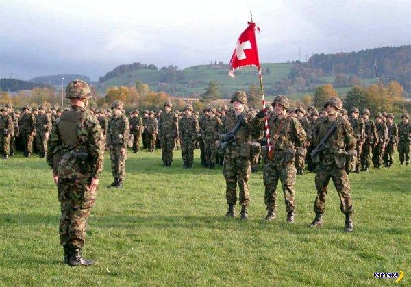 Швейцария готовится к войне с Евросоюзом