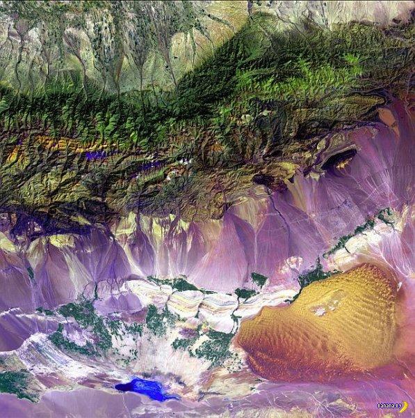 Самые красивые места в мире - фото со спутника