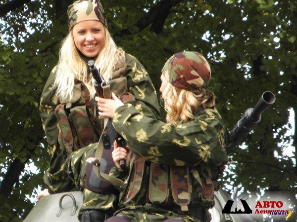 Белорусок будут призывать на военные сборы