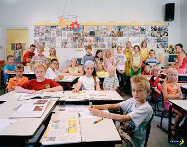 Школьные портреты со всего мира