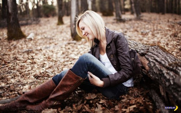 Красивые девушки в красивых местах
