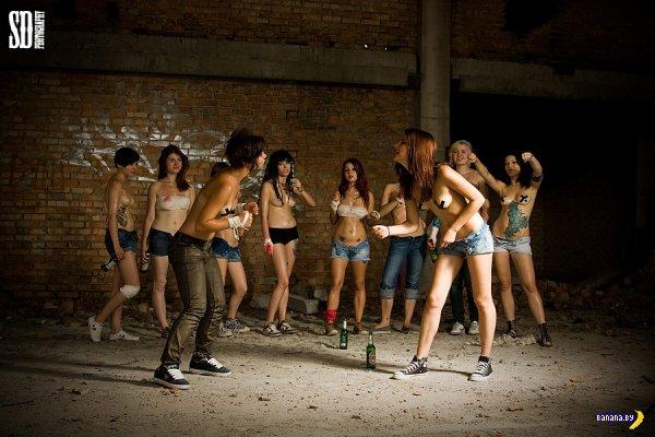 Suicide girls VS українські дівчата