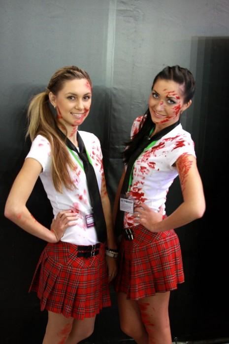 Девушки с Игромир 2012