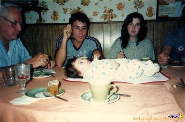 Странные семейные фотографии