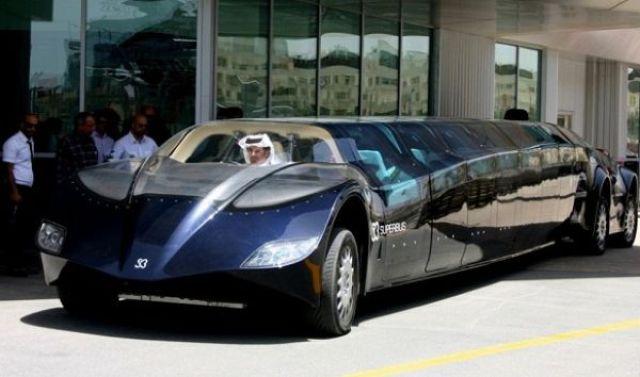Автобус для богатых шейхов