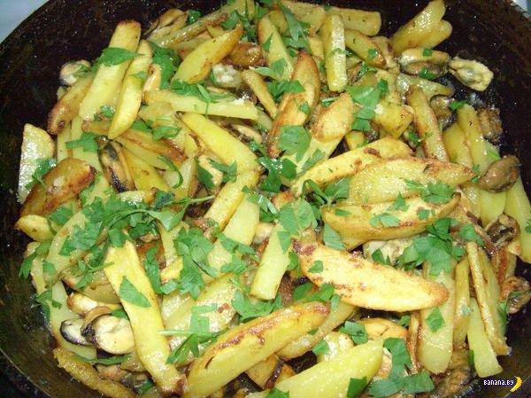 FoodPorn: Жареная картошка!