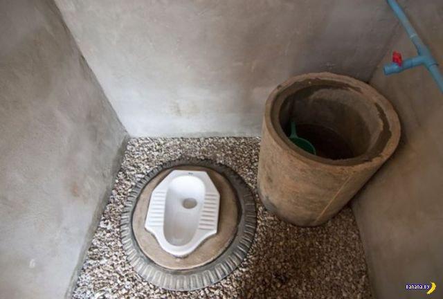 Странные и необычные туалеты