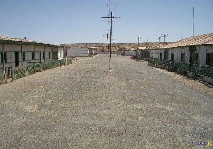 Заброшенный город в пустыне