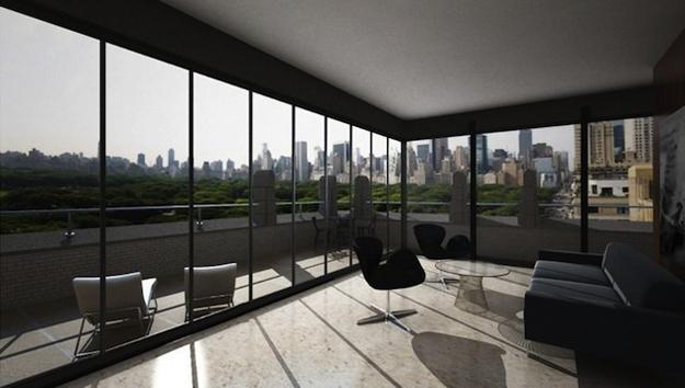 Квартирка с видом на Central Park