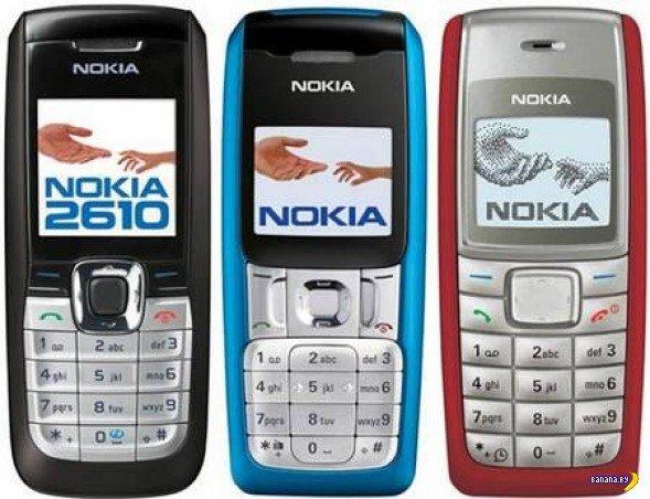 10 самых продаваемых мобильных телефонов