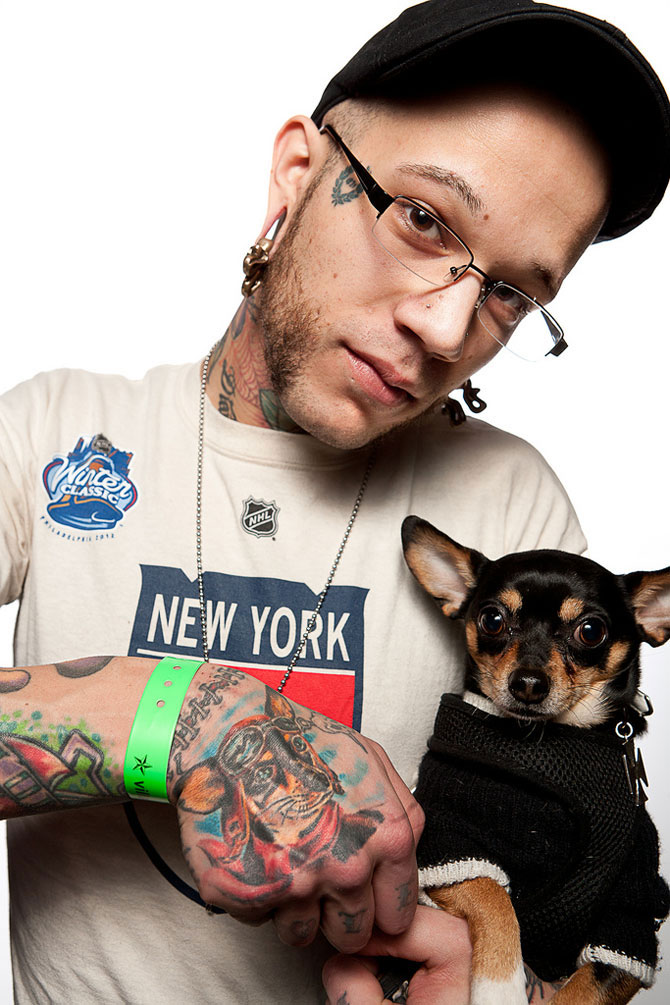 Фестиваль татуировок в Филадельфии